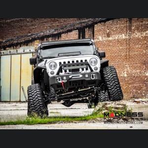 "Jeep Wrangler JK X-Series Suspension Lift Kit w/Vertex Reservoir Shocks - 4"" Lift"